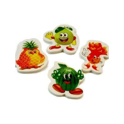 Vlakgum fruit