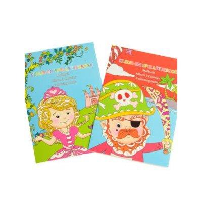 Mini Spel- en Kleurboekje