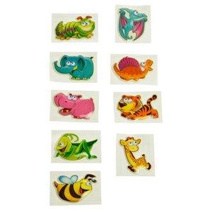 Stickers 3-D dieren