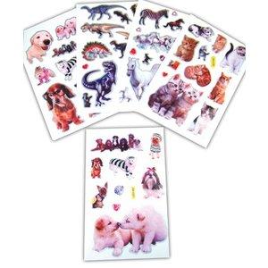 Stickervel fantasie