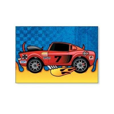 Stickervel racewagen