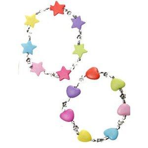 Armbandje hart en ster