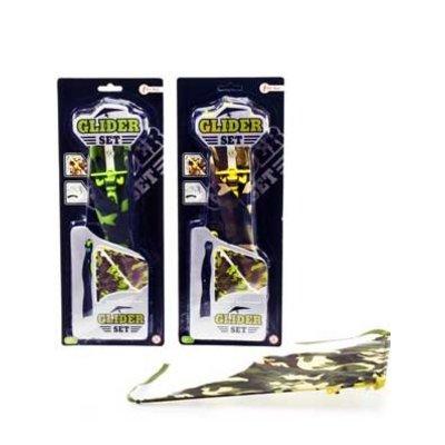 Paraglider afschiet- vlieger ( Voorraad: 99 stuks OP=OP)