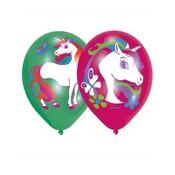 Ballonnen Eenhoorn Regenboog