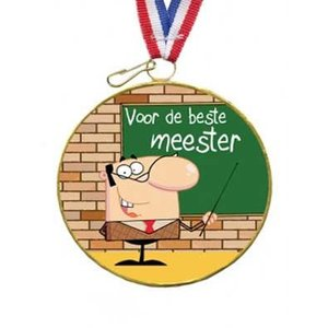 Choco medaille beste meester