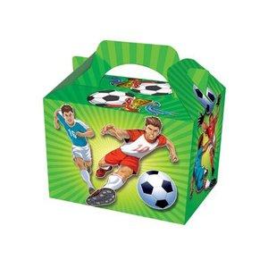 Traktatiedoosje Voetbal ( Nog 10 stuks leverbaar )