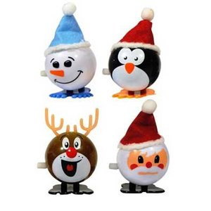 Opwindbare Kerstfiguurtjes