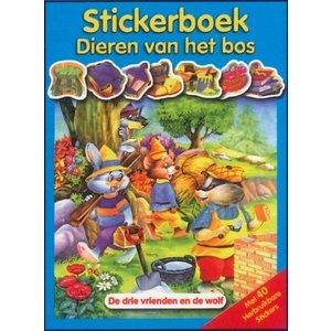Stickerboek Dieren van het bos