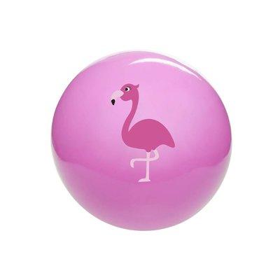 Bal flamingo (on-opgeblazen) ( Voorraad 76 stuks OP=OP)