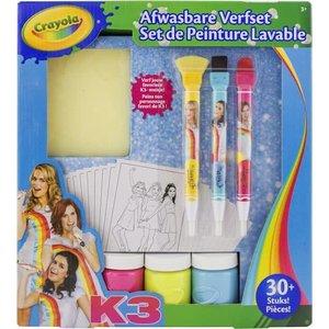Crayola K3 Deluxe Verfset