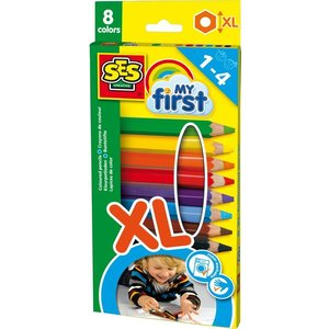SES My First kleurpotloden 8 stuks