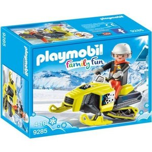 Playmobil Sneeuwscooter PlaymobilSpeelfiguur 9285