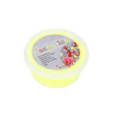 Foam Clay 35 gr. neon geel