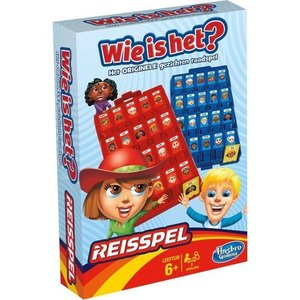 Hasbro Wie is het? Reisspel