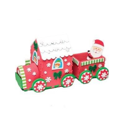 Kerst trein knutselset