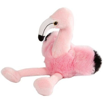Pluche Flamingo 17 cm
