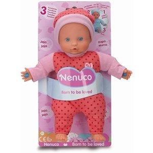 Nenuco Pop Nenuco soft met 3 functies roze 25 cm