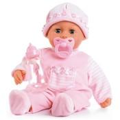 Nenuco First Words Baby Bayer: 38 cm roze