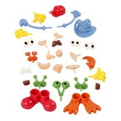 Deco figuren voor foam of silk clay