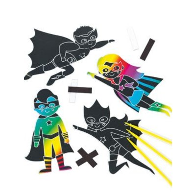 Kraskunst superhelden