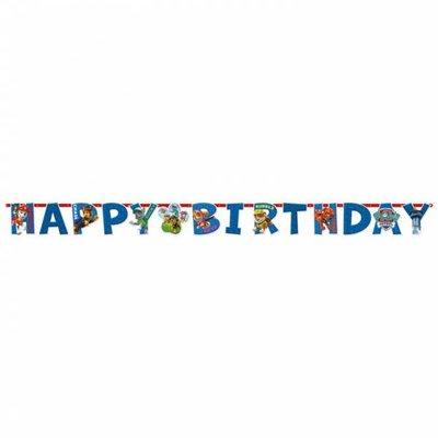 Paw Patrol Verjaardag Slinger (1,80 meter)
