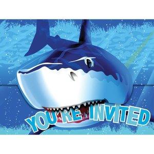 Haaien Uitnodiging ( nog 11 stuks leverbaar )