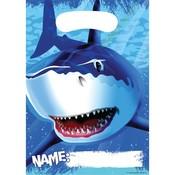 Uitdeelzakjes Haaien ( Voorraad 16 stuks)