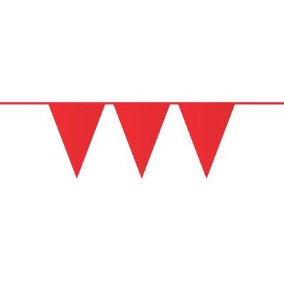 Vlaggenlijn rood ( 10 meter)