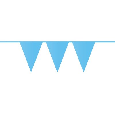 Vlaggenlijn lichtblauw ( 10 meter)