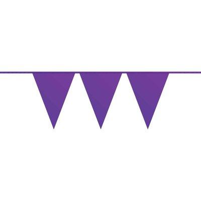 Vlaggenlijn paars ( 10 meter)