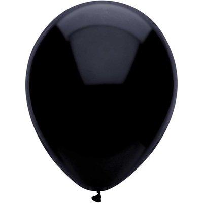 Ballonnen Zwart 30 cm