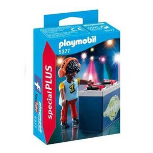 Playmobil Plus 5377 Dj ( Voorraad: 1 stuks OP=OP!)