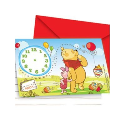 Uitnodiging Winnie the Pooh