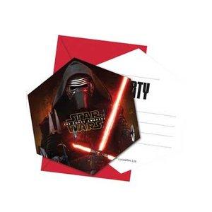 Star Wars Uitnodigingen