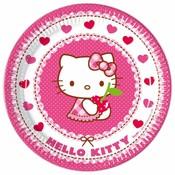 Bordje hello kitty ( Voorraad: 24 stuks OP=OP)