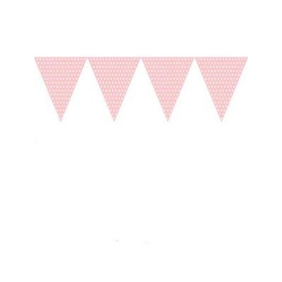 Vlaggenlijn pink dots ( Voorraad: 9 stuks OP=OP!)
