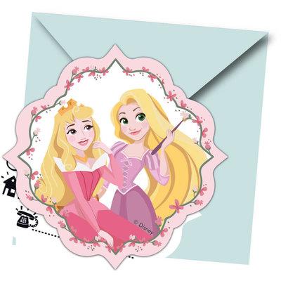 Uitnodigingen Disney Princess