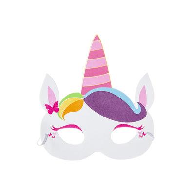 Foam masker eenhoorn
