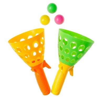 Vangbal beker ( set á 2 stuks) ( Voorraad: 12 stuks OP=OP)