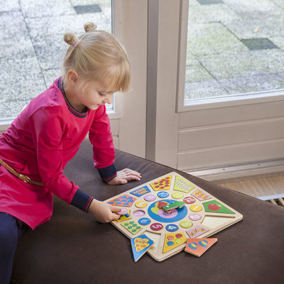 Speel- en leerklok