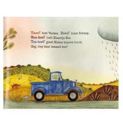 Kleine blauwe truck, 3+