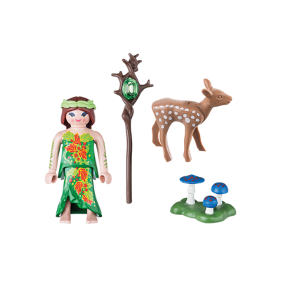 Playmobil Plus 70059 Nimf en hertenkalf