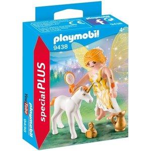 Playmobil Playmobil Plus P9438 Zonnefee met eenhoorn veulen
