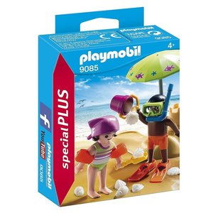 Playmobil Playmobil Plus 9085 Kinderen op het strand ( Voorraad: 1 stuks OP=OP)