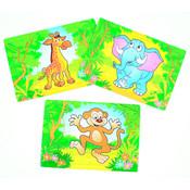 Safari Puzzelkaart