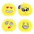 Pufferbal Emoji ( opgeblazen) ( VOORRAAD 58 STUKS OP=OP)