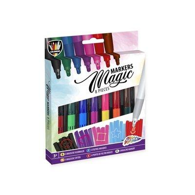 Magische toverstiften (8 stuks) ( VOORRAAD 66 STUKS OP=OP)