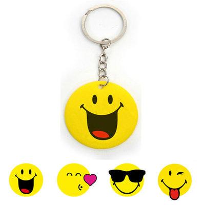 Sleutelhanger Smile face NIEUW!