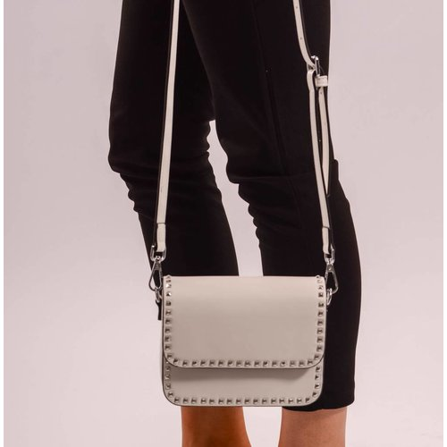 White stud bag