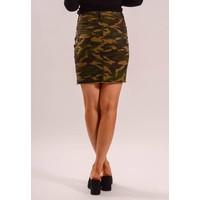 Camo skirt